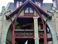 Maison Coilliot et son décor intérieur - Deutsch: Haus Coilliot, Lille, Département Nord, Region Oberfrankreich (ehemals Nord-Pas-de-Calais), Frankreich