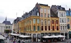 Maisons - Deutsch: Großer Platz/Platz Charles de Gaulle, Lille, Département Nord, Region Oberfrankreich (ehemals Nord-Pas-de-Calais), Frankreich