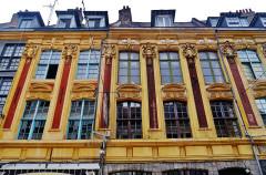 Maisons - Deutsch: Rihour-Platz, Lille, Département Nord, Region Oberfrankreich (ehemals Nord-Pas-de-Calais), Frankreich