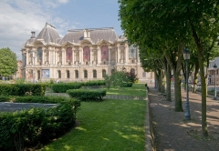 Palais des Beaux-Arts - English: The façade of the museum.