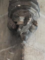 Palais Rihour - Nederlands: Beeldhouwwerk in de trappenhal van de kapel van het voormalige middeleeuwse paleis van de hertogen van Bourgondië.