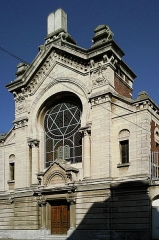 Synagogue - English: Lille's Synagogue