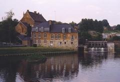 Ancienne abbaye -  eigen foto - Watermolen van Maroilles op de Helpe Mineure