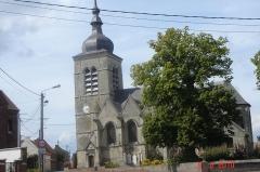 Eglise Saint-Martin - Français:   Église Saint-Martin de Mastaing - département du Nord - France