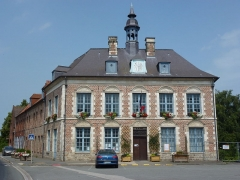 Mairie - English: Morbecque (Nord, Fr) mairie