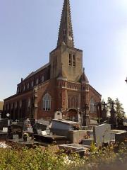 Eglise Saint-Denis - English:   church Noordpene