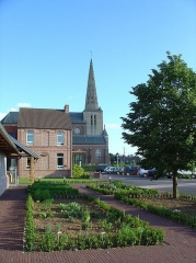 Eglise Saint-Denis - English:   Noordpeene church