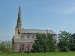 Eglise Saint-Denis - English:   Noordpeene (Nord, Fr) église