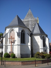 Eglise Saint-Nicolas - English: The church of Péronne-en-Mélantois, Nord, France.