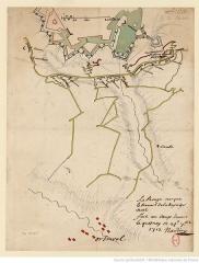 Remparts - carte réalisée par Naudin.