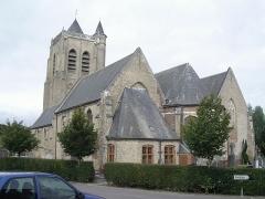 Eglise Saint-Sylvestre - Français:   Eglise de Rubrouck (France, Nord)