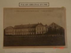 Abbaye de Vaucelles -  1900 Façade du palais abbatial