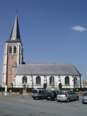 Eglise - English: Churche of Santes (59, France)