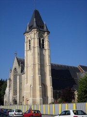 Eglise Saint-Piat - English: St.Piat's collegiate church, in Seclin, Nord, France.