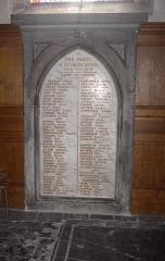 Eglise Saint-Pierre - Nederlands: Solre-le-Château - Les morts de la grande guerre - France