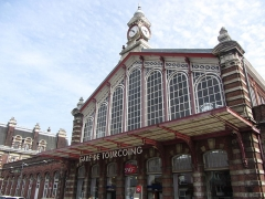 Gare - English:   Train station in Tourcoing