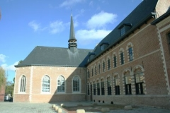 Hospice général -  Hospice d'Havré fondé en 1260 à Tourcoing, bâtiments du XVIIe siècle.