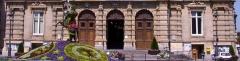 Hôtel de ville -  Rez de chaussée de la façade principale de l'Hôtel de Ville de Tourcoing.