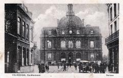 Hôtel de ville - English: Postcard, dated 27.2.1918. Title: