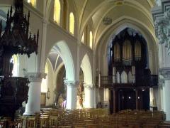 Eglise Saint-Gilles -  Orgue de l'église Saint-Gilles à Watten