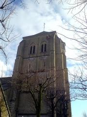 Eglise Saint-Gilles -  Tour de l'église Saint-Gilles à Watten