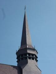 Eglise Saint-Martin - English: Wemaers-Cappel (Nord, Fr) clocher de l'église