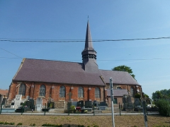 Eglise Saint-Martin - English: Wemaers-Cappel (Nord, Fr) église
