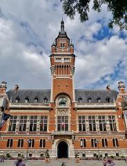 Hôtel de ville - Deutsch: Rathaus, Dunkerque, Département Nord, Region Oberfrankreich (ehemals Nord-Pas-de-Calais), Frankreich