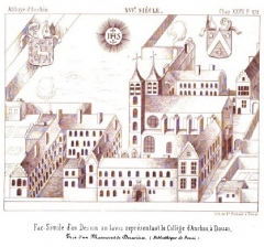 Ancienne abbaye d'Anchain - Français:   Abbaye d\'Anchin - Le collége de Douai