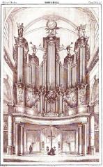Ancienne abbaye d'Anchain - Français:   Abbaye d\'Anchin - Les orgues de la Collégiale Saint-Pierre de Douai