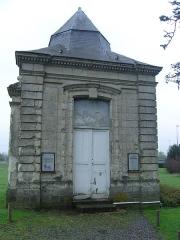Ancienne abbaye d'Anchain - Français:   Pavillon de droite d\'entrée au Collége d\'anchin -pecquencourt