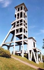 Ancienne fosse Dutemple -  Chevalement actuel de la fosse Dutemple