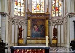 Eglise Saint-Joseph - Deutsch: Chor der Kirche St. Joseph, Roubaix, Département Nord, Region Oberfrankreich (ehemals Nord-Pas-de-Calais), Frankreich