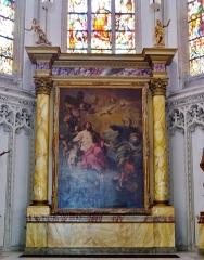 Eglise Saint-Joseph - Deutsch: Hochaltar der Kirche St. Joseph, Roubaix, Département Nord, Region Oberfrankreich (ehemals Nord-Pas-de-Calais), Frankreich