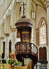 Eglise Saint-Joseph - Deutsch: Kanzel der Kirche St. Joseph, Roubaix, Département Nord, Region Oberfrankreich (ehemals Nord-Pas-de-Calais), Frankreich