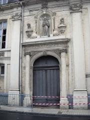 Hôpital-Hospice Saint-Jean - English: Saint John the Baptist hospital, in Aire-sur-la-Lys, Pas-de-Calais, France.