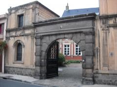 Ancien Hôtel du Gouverneur - English:   The \