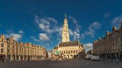 Beffroi - English: Town hall in Arras, Pas-de-Calais department/France