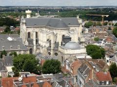 Cathédrale Notre-Dame et Saint-Vaast - Cathédrale Saint-Vaast, chevet, vue depuis le beffroi.