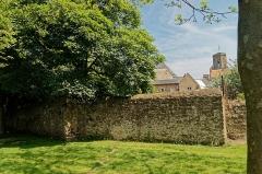 Beffroi - English:   Boulogne-sur-Mer - Ville Haute - Rampart of Fortifications - View NW towards le Beffroi / Belfry de Boulogne