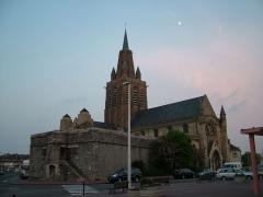Citerne de l'église Notre-Dame -  Die Kirche Notre Dame in Calais in Frankreich