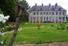 Château -  Couin (Pas-de-Calais, France).   Le château.