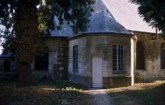 Château -  Le château de couin la tribune donnant sur le choeur de l'église