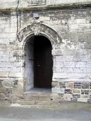 Eglise Saint-Omer -  Porte latérale de l\'église