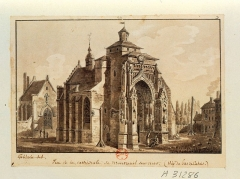 Eglise Saint-Saulve - French illustrator