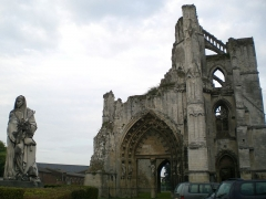 Ancienne abbaye de Saint-Bertin -  Ruines de Saint-Bertin à Saint-Omer.