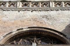 Collégiale, puis cathédrale Notre-Dame, actuellement église paroissiale Notre-Dame - Saint-Omer (Pas-de-Calais - France), Cathédrale Notre-Dame - Cadran solaire de la cathédrale Notre-Dame (1610).