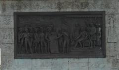 Colonne de la Grande Armée de Boulogne - English: Boulogne-sur-Mer - Rue Napoléon - View West on Colonne de la Grande Armée - 50 m high Column 1804-23 by Éloi Cabarre - In 1805 an invasion of Great Britain was prepared here