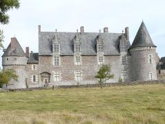 Château de la Motte-Glain - English: Le Château de la Motte-Glain (La Chapelle-Glain)