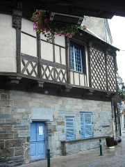 Maison dite de l'Ange - English: Old house in Chateaubriant, Loire-Atlantique, France. In this place Sophie Trebuchet met Leopold Hugo. They are parents of Victor Hugo.